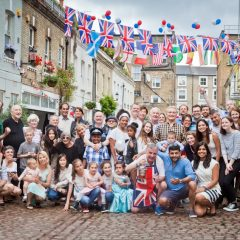 Spear Mews Queen's 90th Birthday Celebrations
