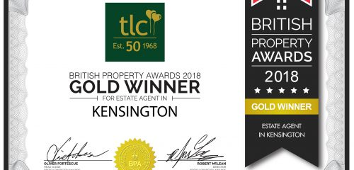 It's official! tlc win GOLD in British Property Awards 2018