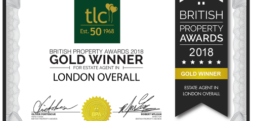 We've been crowned Best Agent in London!