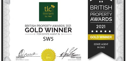 Our sales team win GOLD in British Property Awards 2021